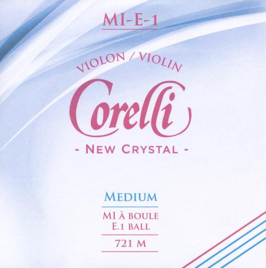 CORELLI Crystal - Set vioolsnaren - E kogel - 4/4