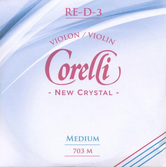 CORELLI Crystal - vioolsnaren  - D snaar - 4/4