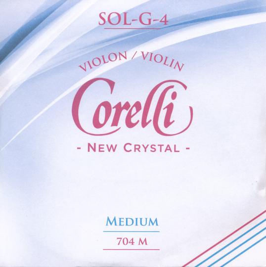 CORELLI Crystal - vioolsnaren - G snaar - 4/4