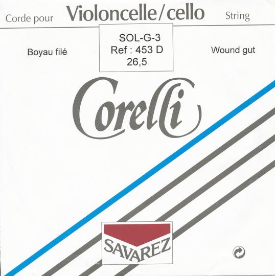 CORELLI  Darm Cello G- snaar, sterkte 26-1/2