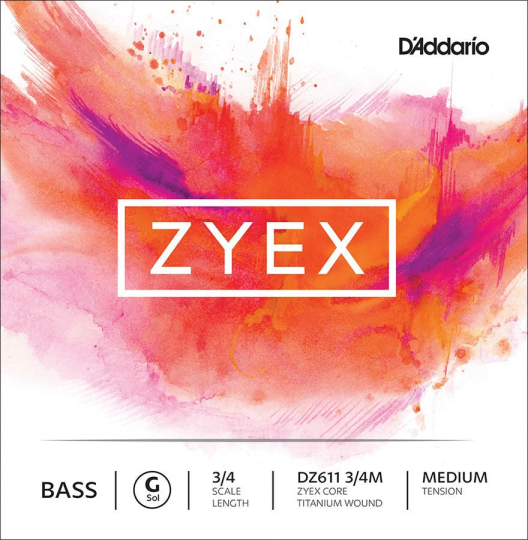 Zyex Bass  G-snaar, medium