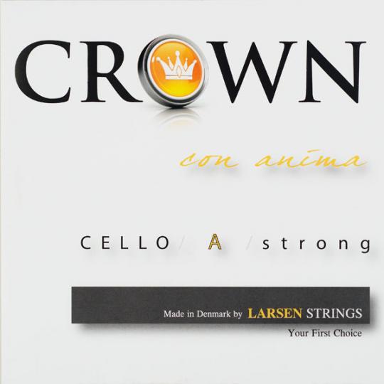 Crown Strings Violoncello, A- snaar, alu, forte
