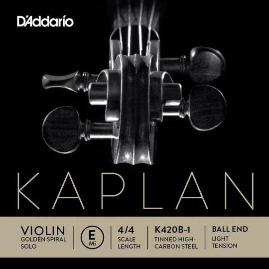 KAPLAN Golden Spiral Solo - vioolsnaren - E kogel - soft