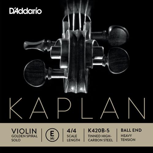 KAPLAN Golden Spiral Solo - vioolsnaren - E kogeltje - strong