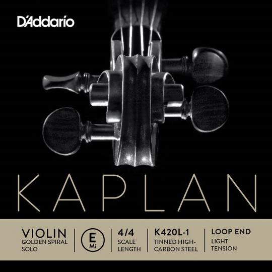 KAPLAN Golden Spiral Solo - vioolsnaren - E lusje - soft