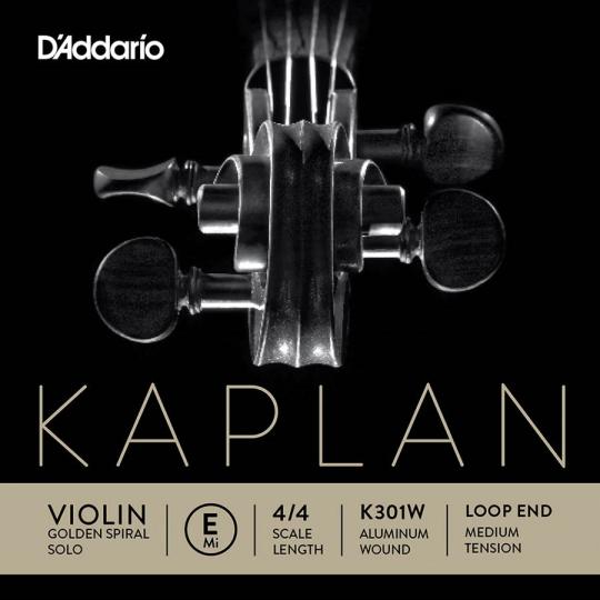 KAPLAN Golden Spiral Solo - vioolsnaren - E lusje