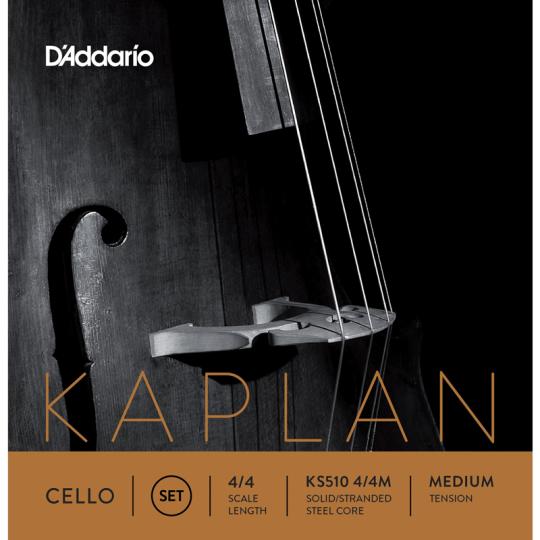 D' Addario Kaplan VlCello Set 4/4, medium