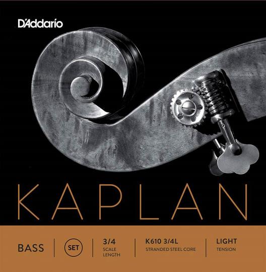 D´ Addario Kaplan Orchestra Contrabas Set, light