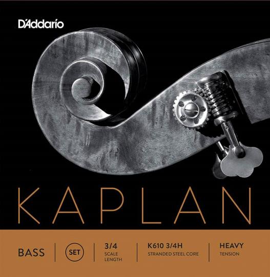 D´ Addario Kaplan Orchestra Contrabas Set, heavy