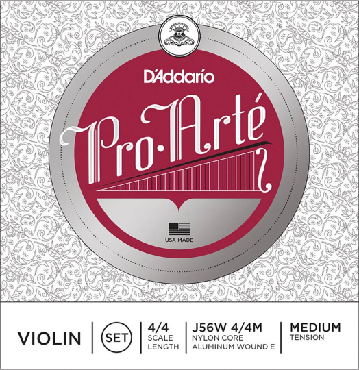 D´ADDARIO ProArté - Set vioolsnaren -  E kogel - medium - 4/4