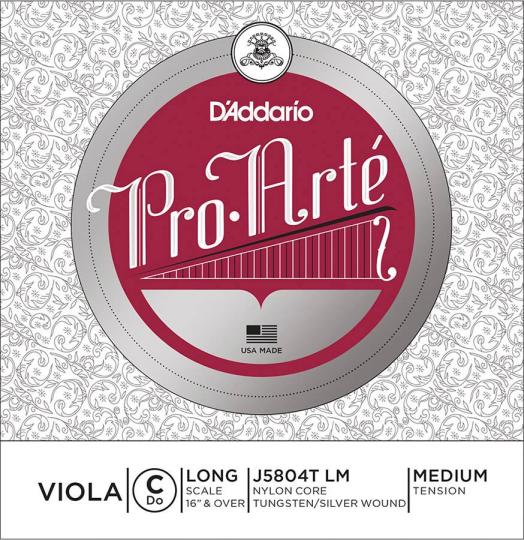D´ADDARIO  Pro Arté Viola C-snaar, medium
