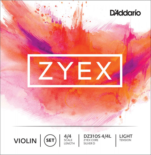 D´ADDARIO Zyex - Set vioolsnaren - light - 4/4