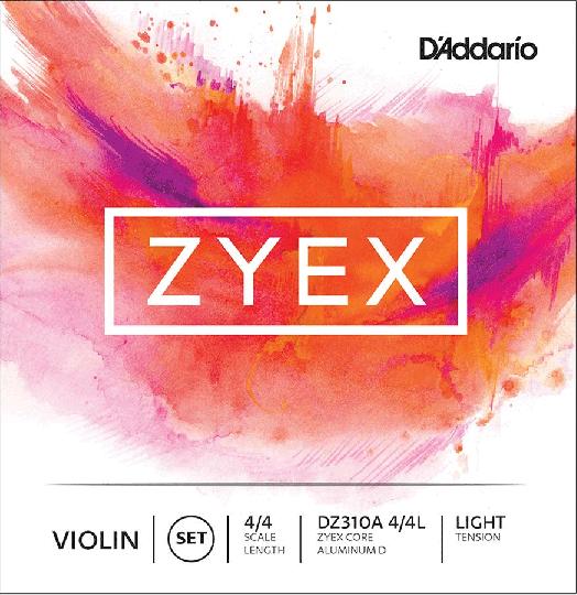 D'ADDARIO Zyex  - Set vioolsnaren - light - 4/4