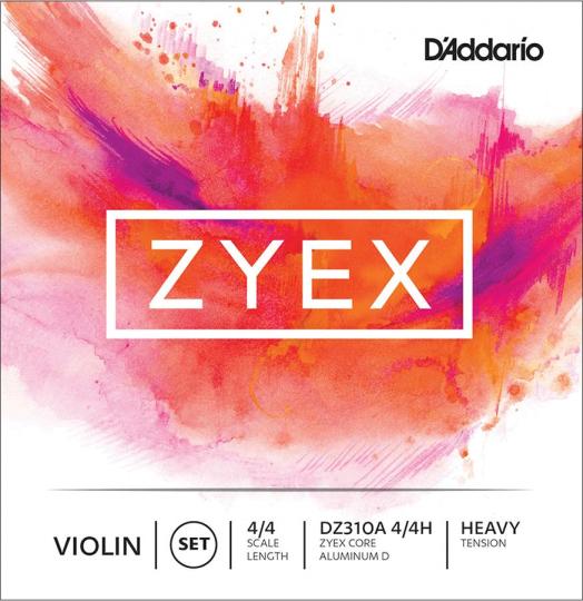 D´ADDARIO Zyex - Set vioolsnaren - heavy - 4/4