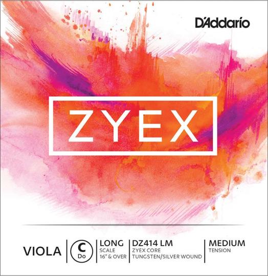 D´ADDARIO  Zyex Viola C-snaar, medium