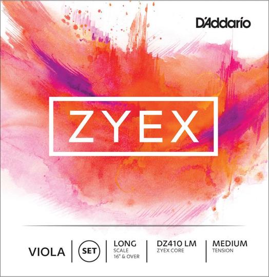 D´ADDARIO  Zyex Set altvioolsnaren, medium