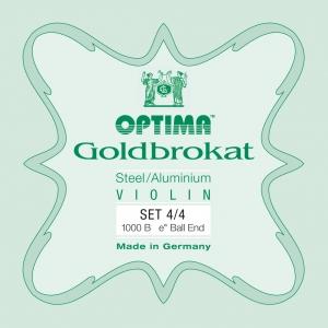 LENZNER-Optima Goldbrokat Set vioolsnaren  1/2