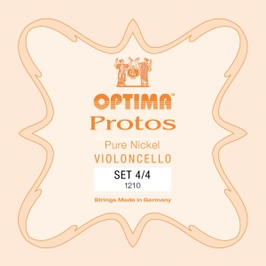 LENZNER-Optima Protos Set cellosnaren 4/4, medium