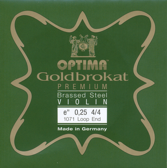 Optima Goldbrokat Premium Brassed Violin E-Snaar lusje 26