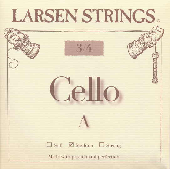 LARSEN Cello Set, medium