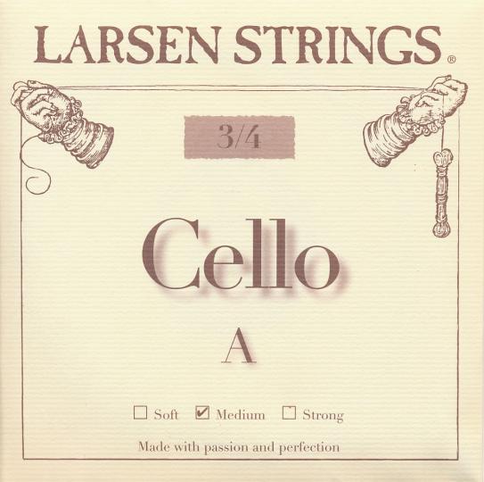 LARSEN Cello A-snaar, medium 3/4