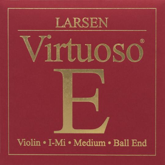 Larsen Virtuoso Viool E-snaar - staal / lusje
