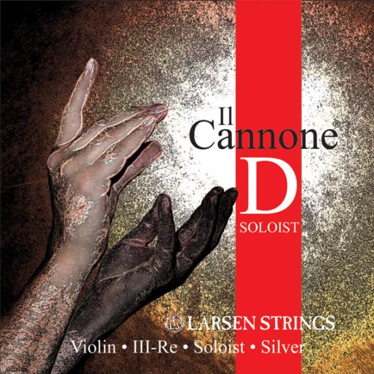 Larsen Il Cannone Soloist Violin D-Snaar, medium