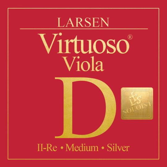 LARSEN Virtuoso Soloist altviool D-Snaar, medium