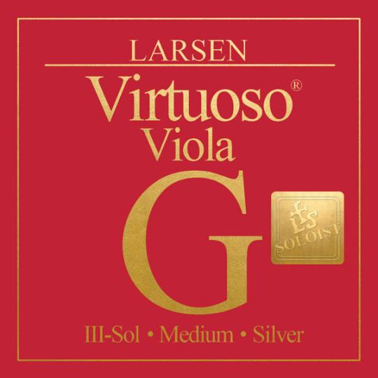 LARSEN Virtuoso Soloist altviool G-Snaar, medium