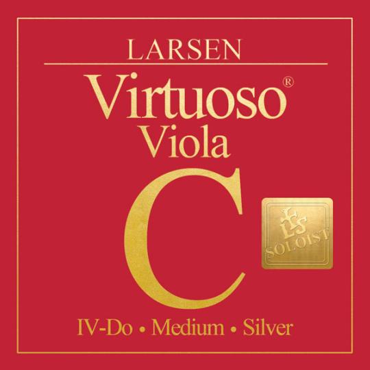 LARSEN Virtuoso Soloist altviool C-Snaar, medium