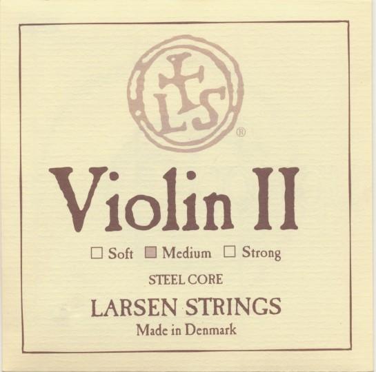LARSEN Violin A-snaar, staal, medium