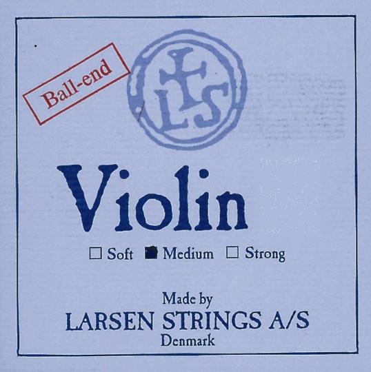 LARSEN Set vioolsnaren E kogeltje