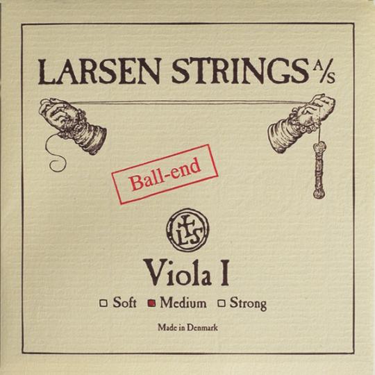 LARSEN Viola A-snaar met kogeltje medium