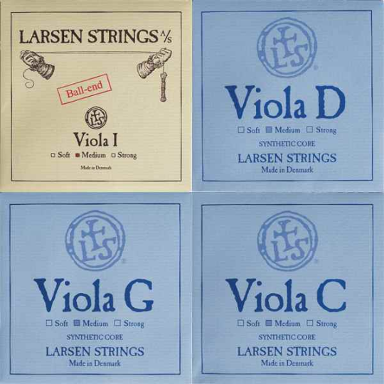 LARSEN Viola Set snaren, medium