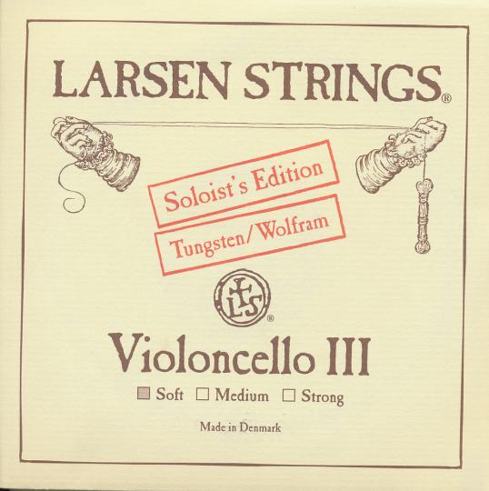 LARSEN Cello Soloist G-snaar, soft