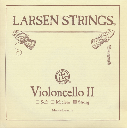 LARSEN Cello D-snaar, strong