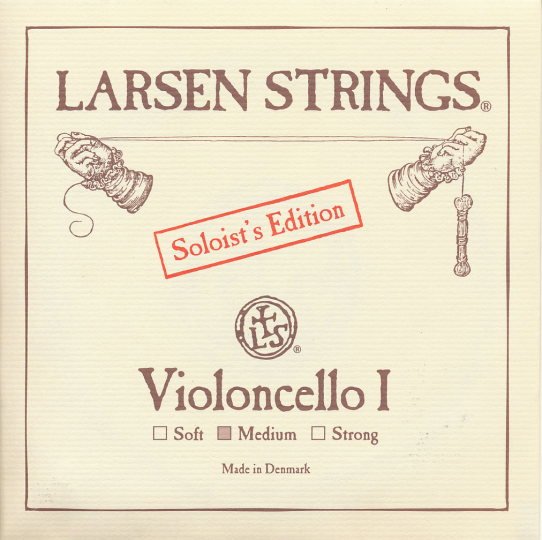 LARSEN Cello Soloist A-Snaar, medium
