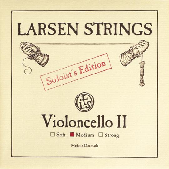 LARSEN Cello Soloist D-Snaar, medium