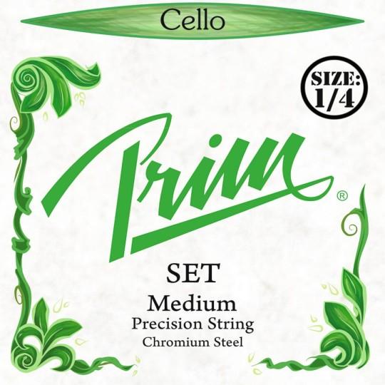 PRIM  Precision 1/4 Set cellosnaren, medium
