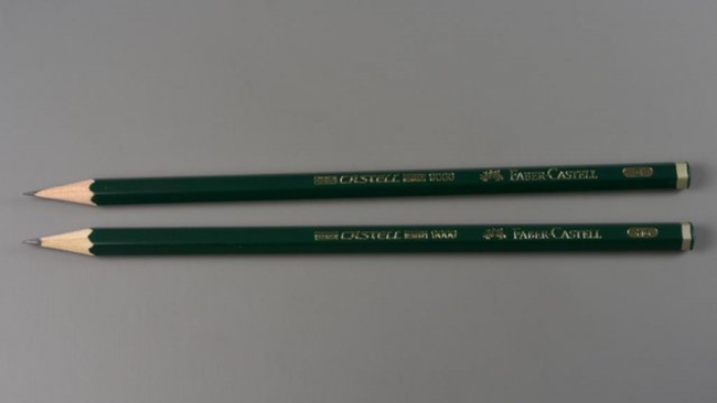 Faber-Castell, kwaliteitspotlood, sterkte HB