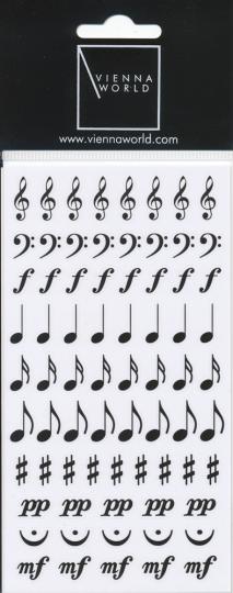 Sticker Notentekens