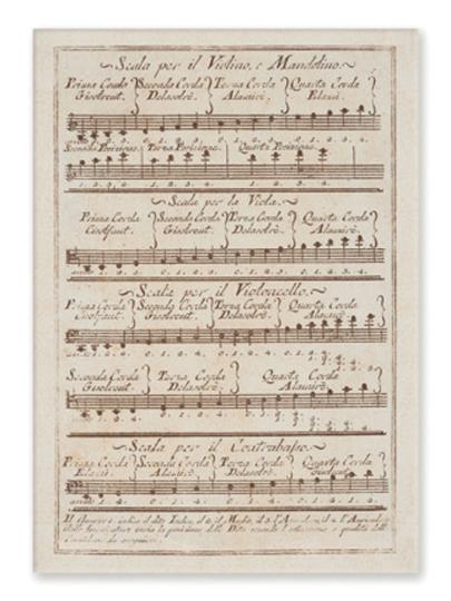 Postkaarten - Scala Violino