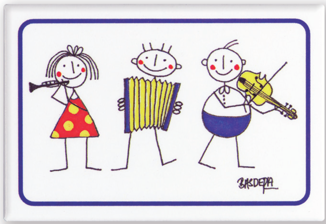 Magneten - 3 little Philharmonics