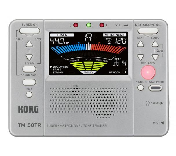 KORG TM-50TR STEMAPARAAT/ METRONOOM & TOONTRAINER