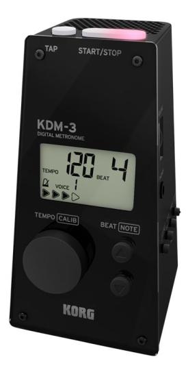 Korg KDM-3 Metronom