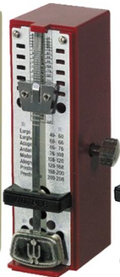 Wittner, taktell Super-Mini, metronoom rood