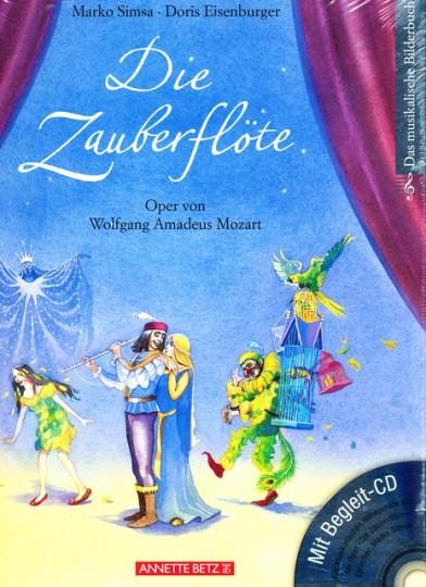 Die Zauberflöte, fotoboek met cd