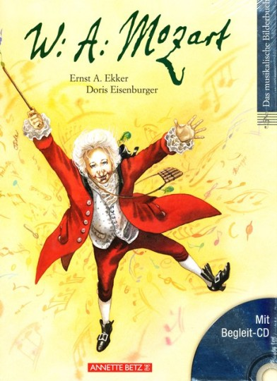 W. A. Mozart, fotoboek met cd