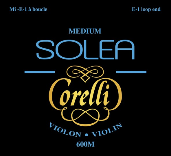 CORELLI SOLEA Vioolsnaren Set met E-Kogel, medium