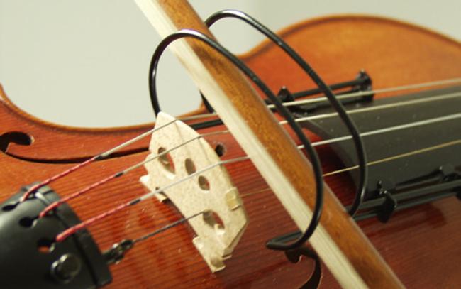 Strijkstok correctie viool